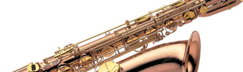 Close-up of a Yanagisawa Saxophone